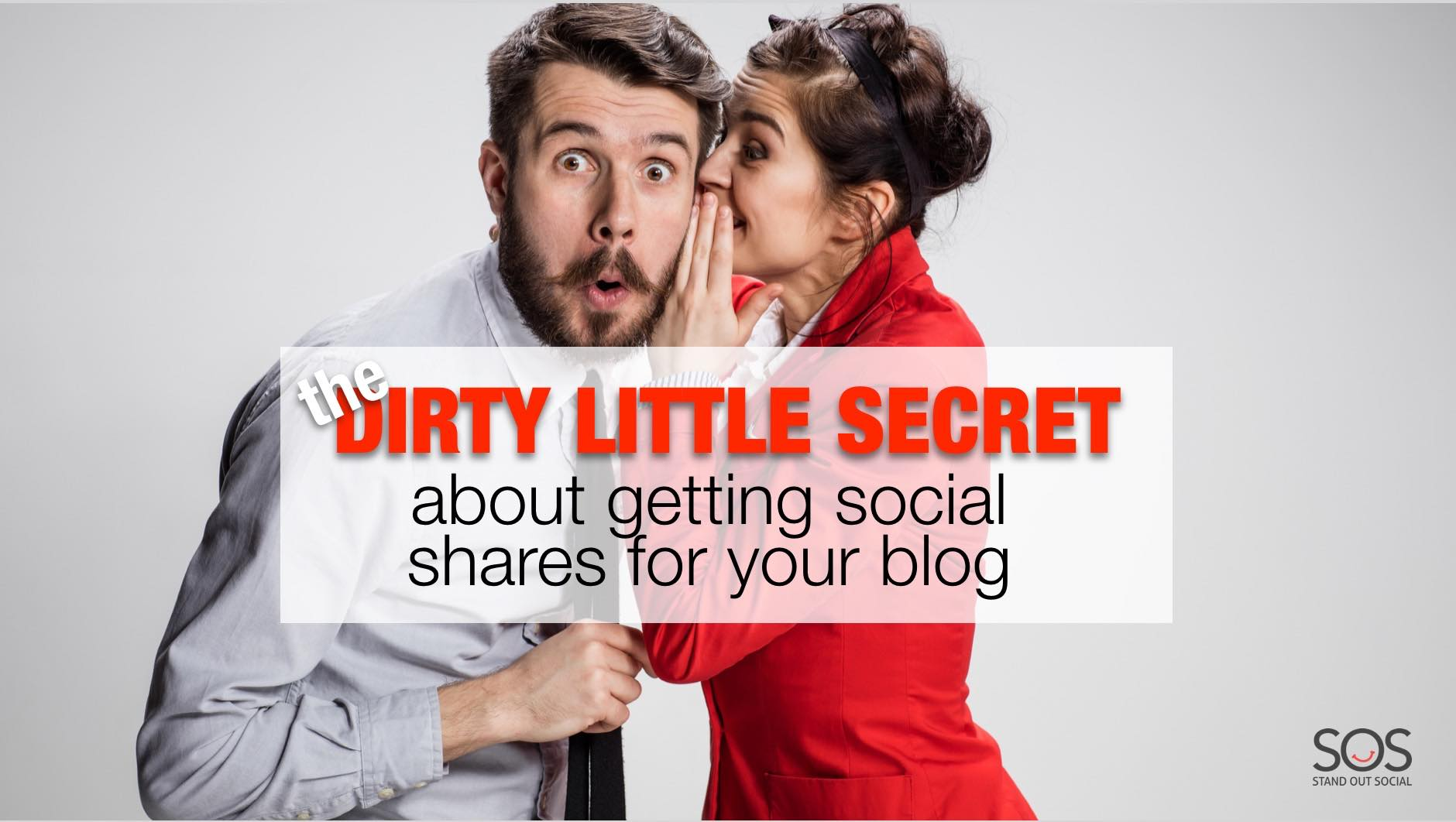 Getting social shares for your blog