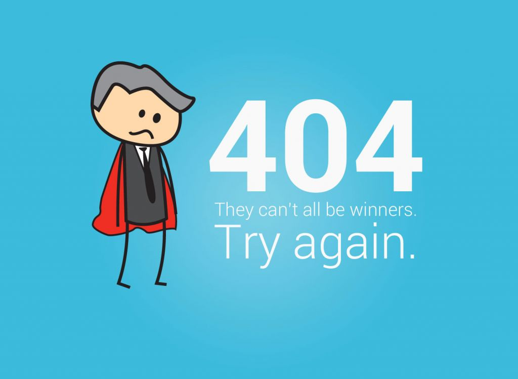 How to create an awesome error 404 page