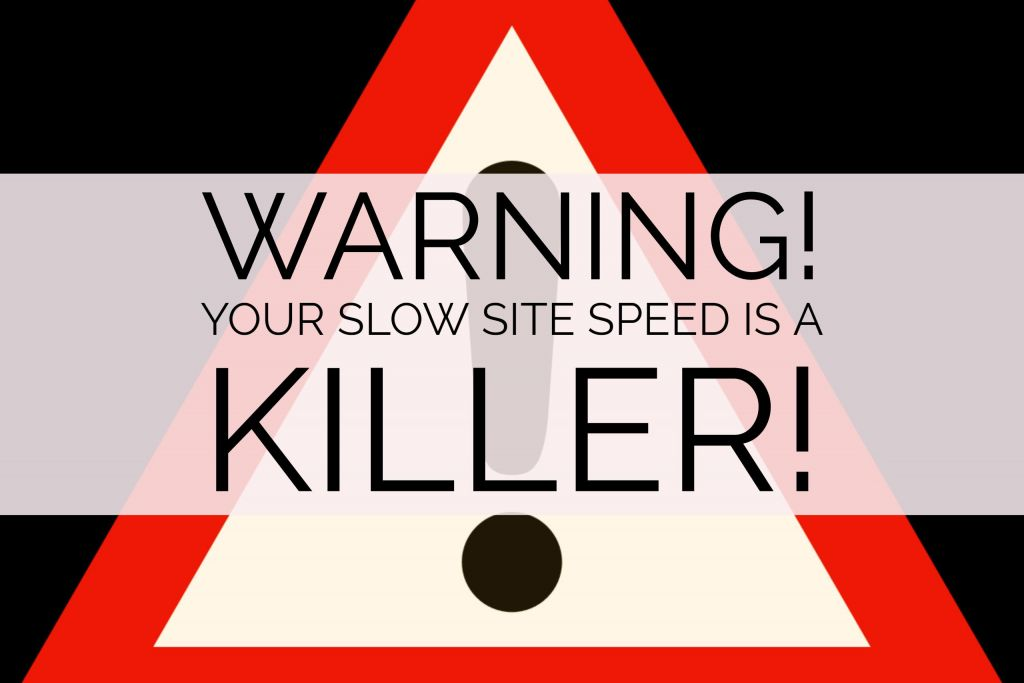 Warning! Your Slow Site Load Speed is a Killer!