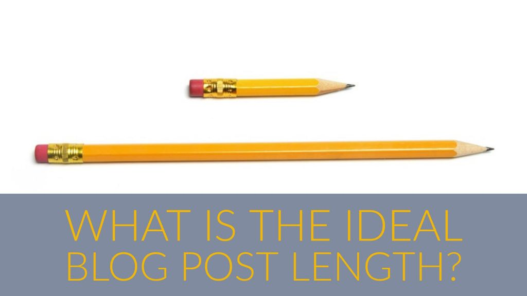 What is the ideal blog post length?