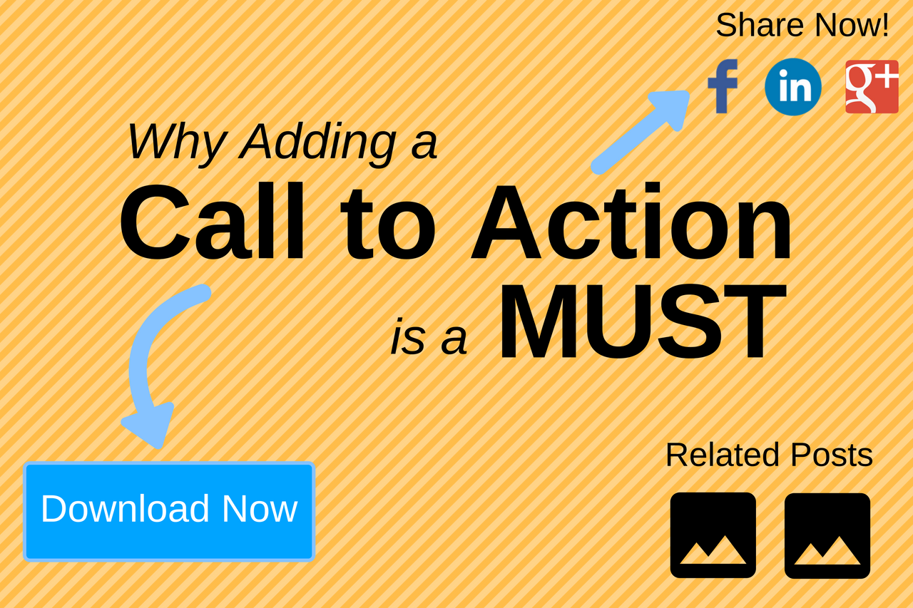 Why adding a call to action is a must