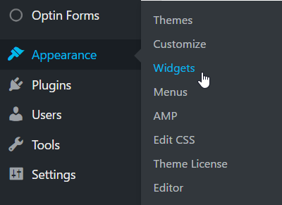 "Creating a ""Start Here"" widget in wordpress"