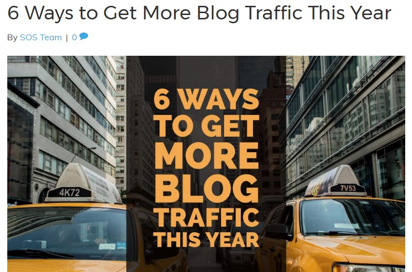 Get more traffic with these blog post types