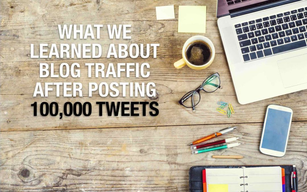 Blog traffic: What we've learned