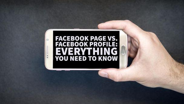 Facebook Page vs Profile