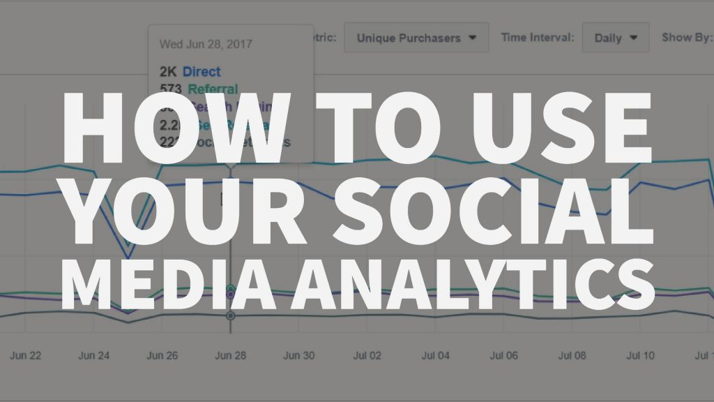 How to Use Your Social Media Analytics