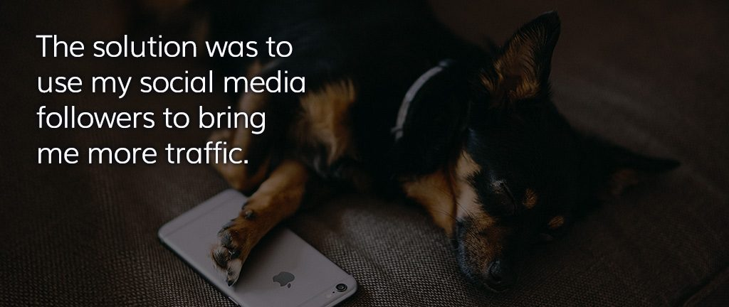 Using social media to build blog traffic