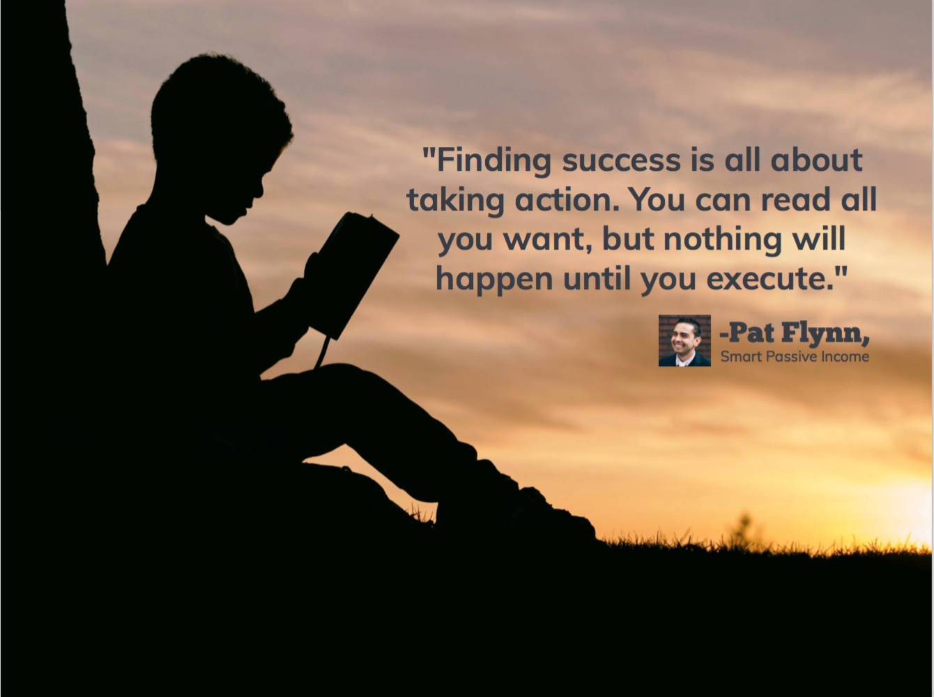 finding successis all about taking action