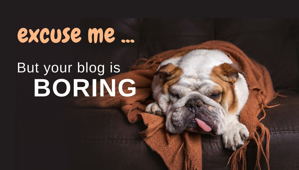 blog post ideas to improve a boring blog
