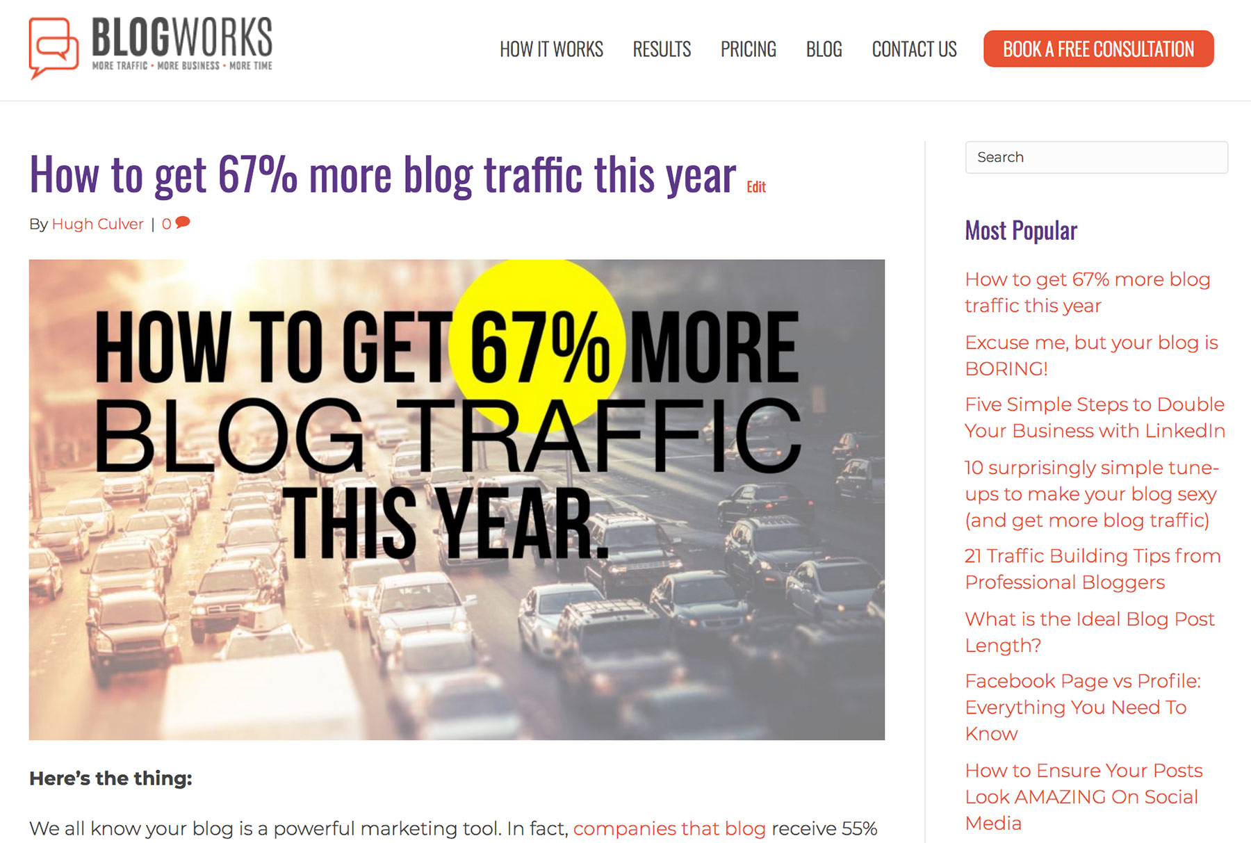 Attract new followers with your blog