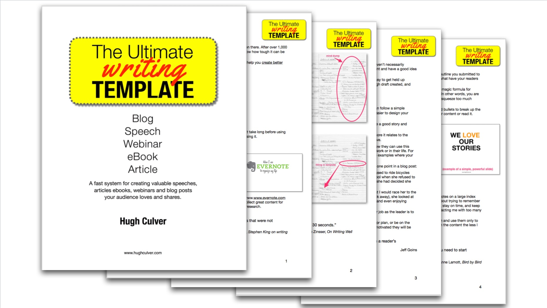 ultimate blog post writing template
