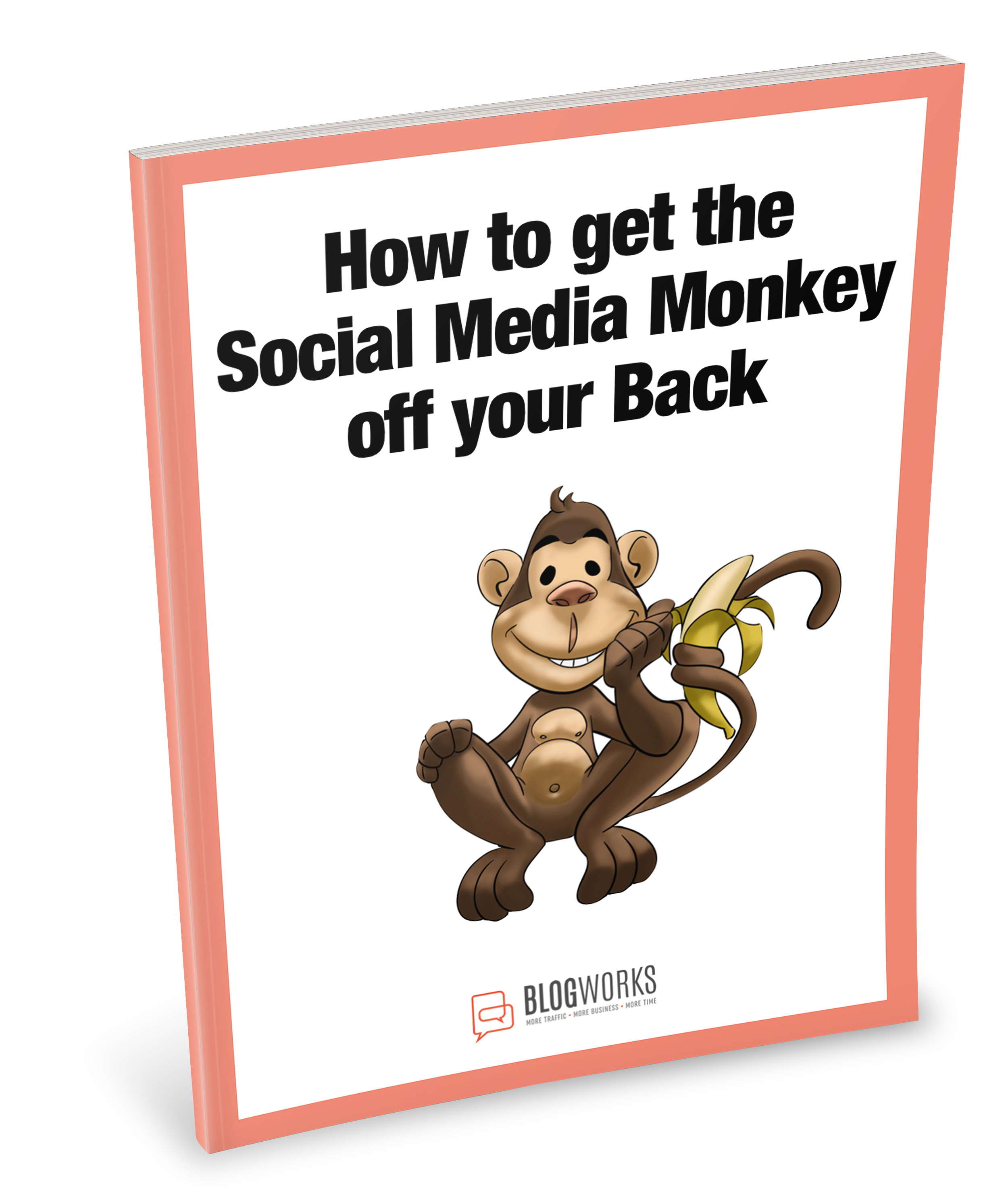 How To get the Social Media Monkey off your Back E-book