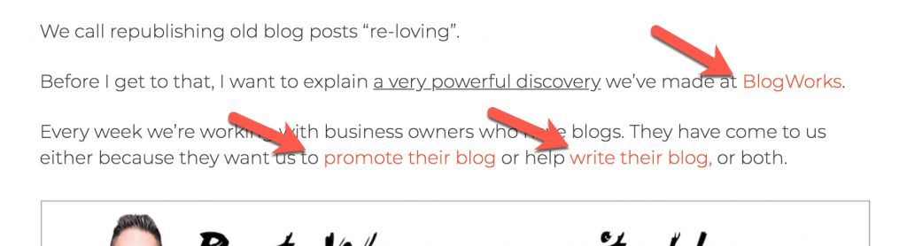 to make money from your blog, tell people what you do