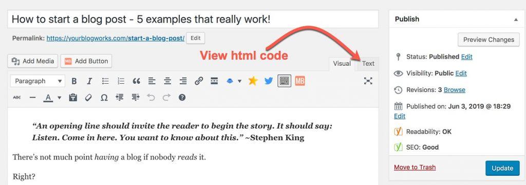 image describing how to view source code