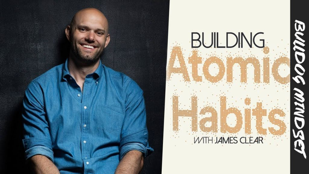 Cover of James Clear book Atomic Habits