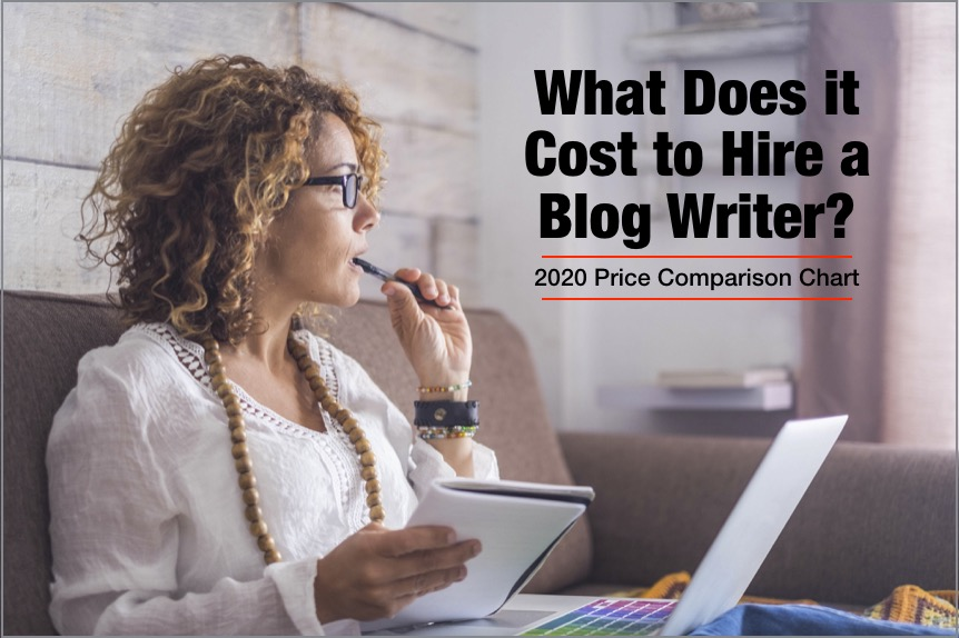 What does it cost to hire a blog writer