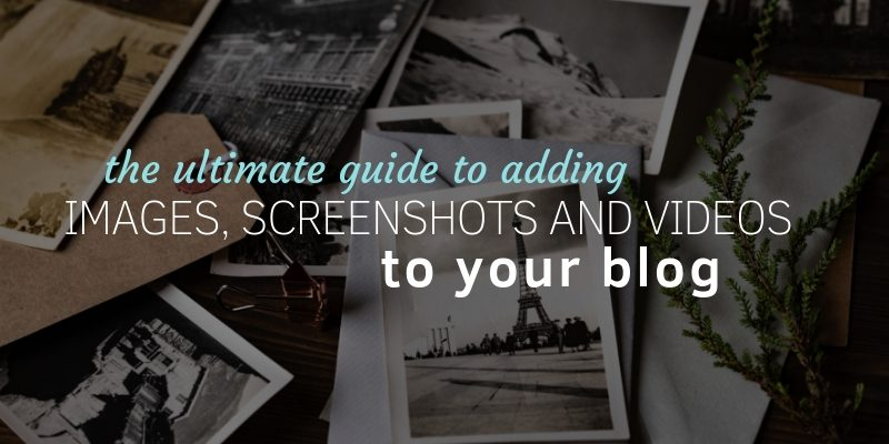 how to use images in blog posts